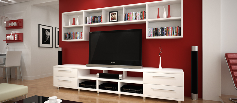Custom Made Entertainment Units | Comtempory & Modern Wall Units in ...