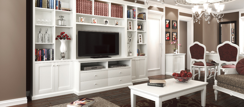 Custom Made Entertainment Units | Modern & Contemporary Wall Units ...